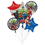 Bouquet Marvel Avengers Power Unite Foil Balloon P75 Packaged