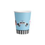 8 Cups On the Road Pattern Paper 250 ml