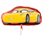 "SuperShape ""Cruz/Jackson"" Foil Balloon, P38, packed, 88 x 43cm"
