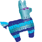 SuperShape Battle Royal Llama Foil Balloon P35 packaged