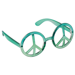 Fun Shades Peace Plastic 14.2 x 6.3 cm