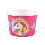 8 Ice Bowls Unicorn Paper 270 ml