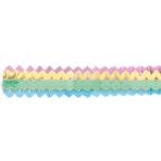 2 Garlands Mini Pastel Rainbow Paper 8 x 200 cm