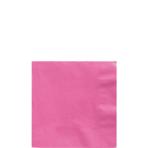 50 Napkins Bright Pink 25 x 25 cm