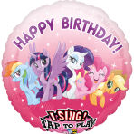 Jumbo Sing-A-Tune MLP Friendship Adventures Foil Balloon P75 Packaged 71cm x 71cm