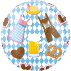 Standard Oktoberfest Foil Balloon S40 Packaged