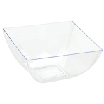 10 Mini Wavy Bowls Barware Clear 226 ml