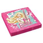 20 Napkins Barbie Popstar 33 cm