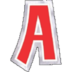 48 Stickers Letter A