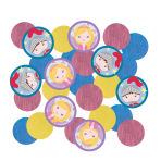 Confetti Princess & Knight Paper 14 g
