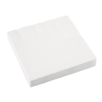 20 Napkins Frosty White 33 x 33 cm