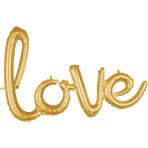 Script Phrase `Love` Gold