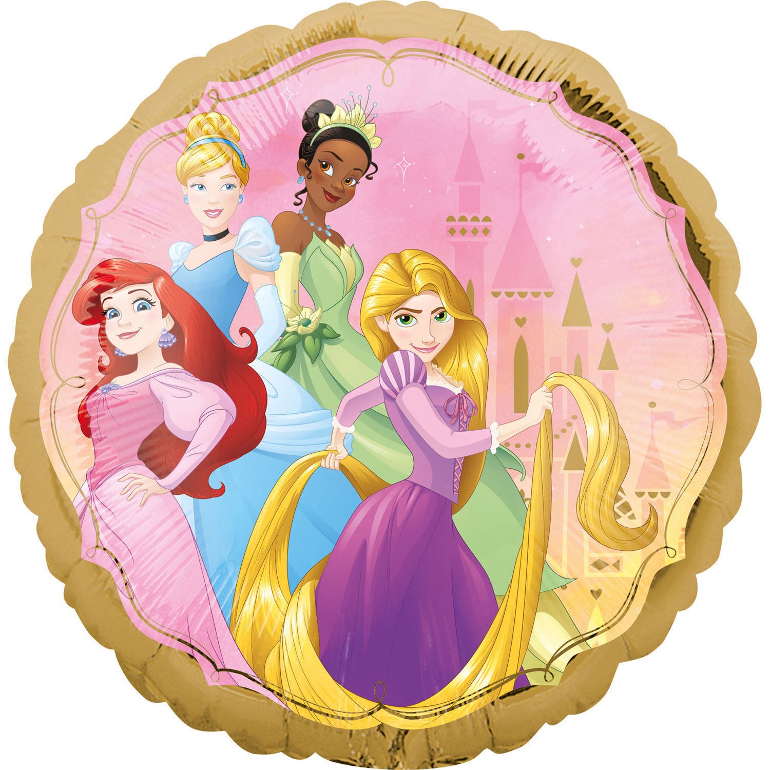 Standard Disney Princess One Upon A Time Foil Balloon S60 Packaged