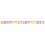 Letter Banner Cupcake Paper 173 x 11 cm