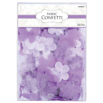300 Flower Confetti Colourful Wedding lilac 5 cm