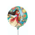 "9"" ""Elena of Avalor"" Foil Balloon Round, A20, airfilled, 23cm"