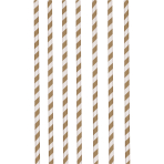 12 Drinking Straws Fox & Beaver Paper 19.7 cm