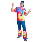 Adult Costume 60's Free Spirit Man Size Std