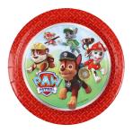 8 Plates Paw Patrol 18 cm