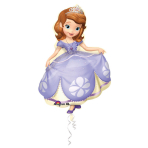 SuperShape Sofia the First Foil Balloon P38 Packaged 66 x 88cm