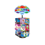 Foil Balloon Counter Display 24 Pegs 51 x 51 x 81 cm