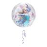 Orbz Frozen Clear Foil Balloon G40 Packaged 38 x 40 cm