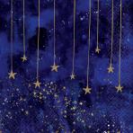 16 Napkins Midnight NYE 33 x 33 cm