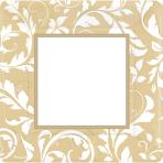 8 Plates Gold Anniversary 25.4cm
