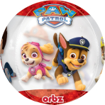 "Orbz ""Paw Patrol Chase and    Marshall"" Foil Balloon Clear, G40, packed, 38 x 40 cm"