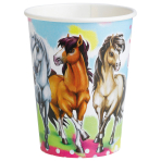 8 Cups Charming Horses 2 Paper 250 ml