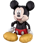 Sitter Mickey Mouse Foil Balloon P50 Packaged