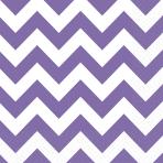 20 Napkins New Purple Chevron 33 x 33 cm