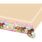 Tablecover Charming Horses 2 Plastic 120 x 180 cm