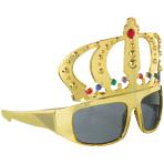 Fun Shades King Gold Plastic 14.6 x 14.6 cm