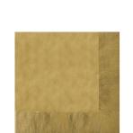 50 Napkins Gold 33 x 33 cm