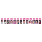Photo Garland Pink Glitter Paper 365 cm