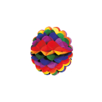 Honeycomb Decoration Rainbow Paper 28 cm