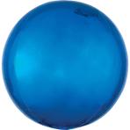 Orbz Blue Foil Balloon G20 Bulk 38 x 40 cm