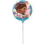 9'' Doc McStuffins Foil Balloon A20 Air Filled 23 cm