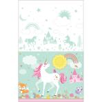 Tablecover Magical Unicorn Plastic 137 x 243 cm