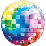 Jumbo Disco Fever 70's Foil Balloon P33 Packaged 81 x 81 cm