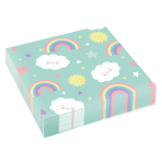 20 Napkins Rainbow & Cloud 33 x 33 cm