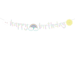 Letterbanner Rainbow & Cloud 180cm