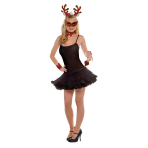 Costume Accessory Set Vixen Reindeer 6 Pieces