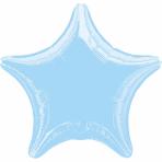 Standard Metallic Pearl PastelBlue Foil Balloon S15 Bulk