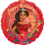 """Standard """"Elena of Avalor-HDB""""Foil Balloon Round,S60,packed,43cm"""