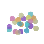 Decoration Confetti - Pastel Rainbow 15g
