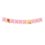 Pennant Banner Valentine's Day Paper 180 x 15 cm