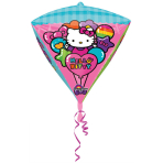 Diamondz Hello Kitty Foil Balloon G40 Packaged 38 x 43 cm