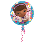 Standard Doc McStuffins Foil Balloon S60 Packaged 43 cm